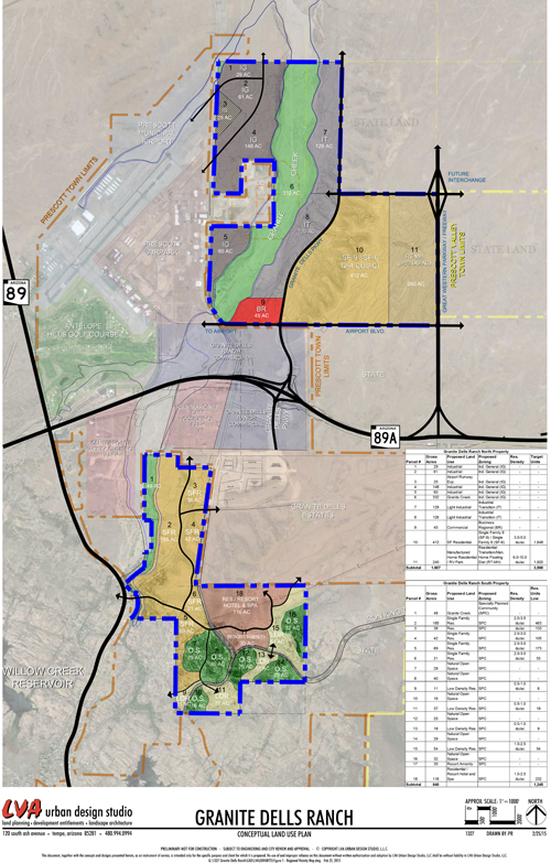 Granite Dells Ranch Conceptual Land Use Plan (PDF)
