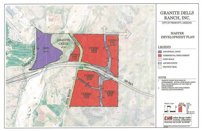 Granite Dells Ranch Master Development Plan (PDF)