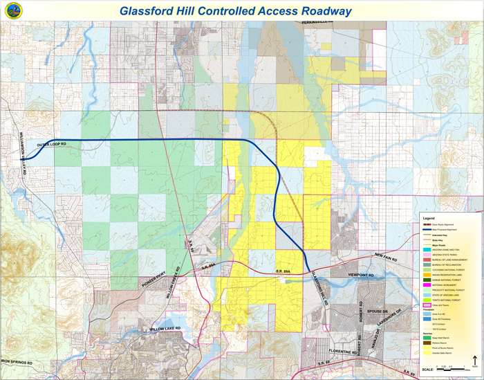 Glassford Hill Controlled Access Roadways (PDF)